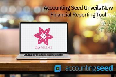 Accounting Seed's Lily Product Release brings a new Financial Reporter. Learn more about Accounting Seed's product at www.accountingseed.com.