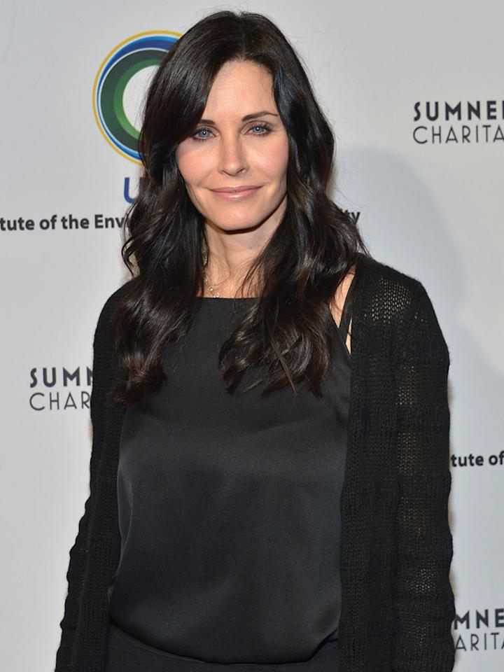 """<a href=""http://tv.yahoo.com/shows/cougar-town/"">Cougar Town</a>"" star Courteney Cox is a guest of USA Today."