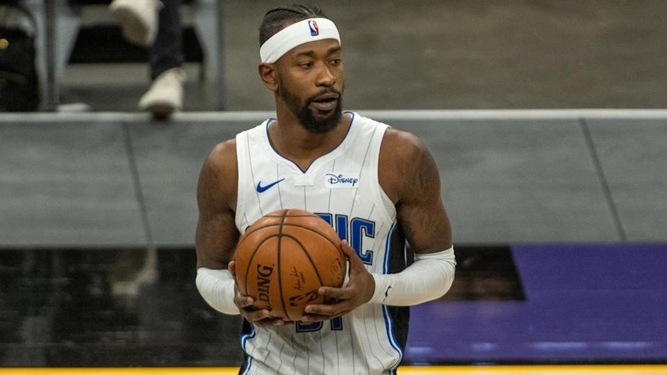 Terrence Ross holding ball close up