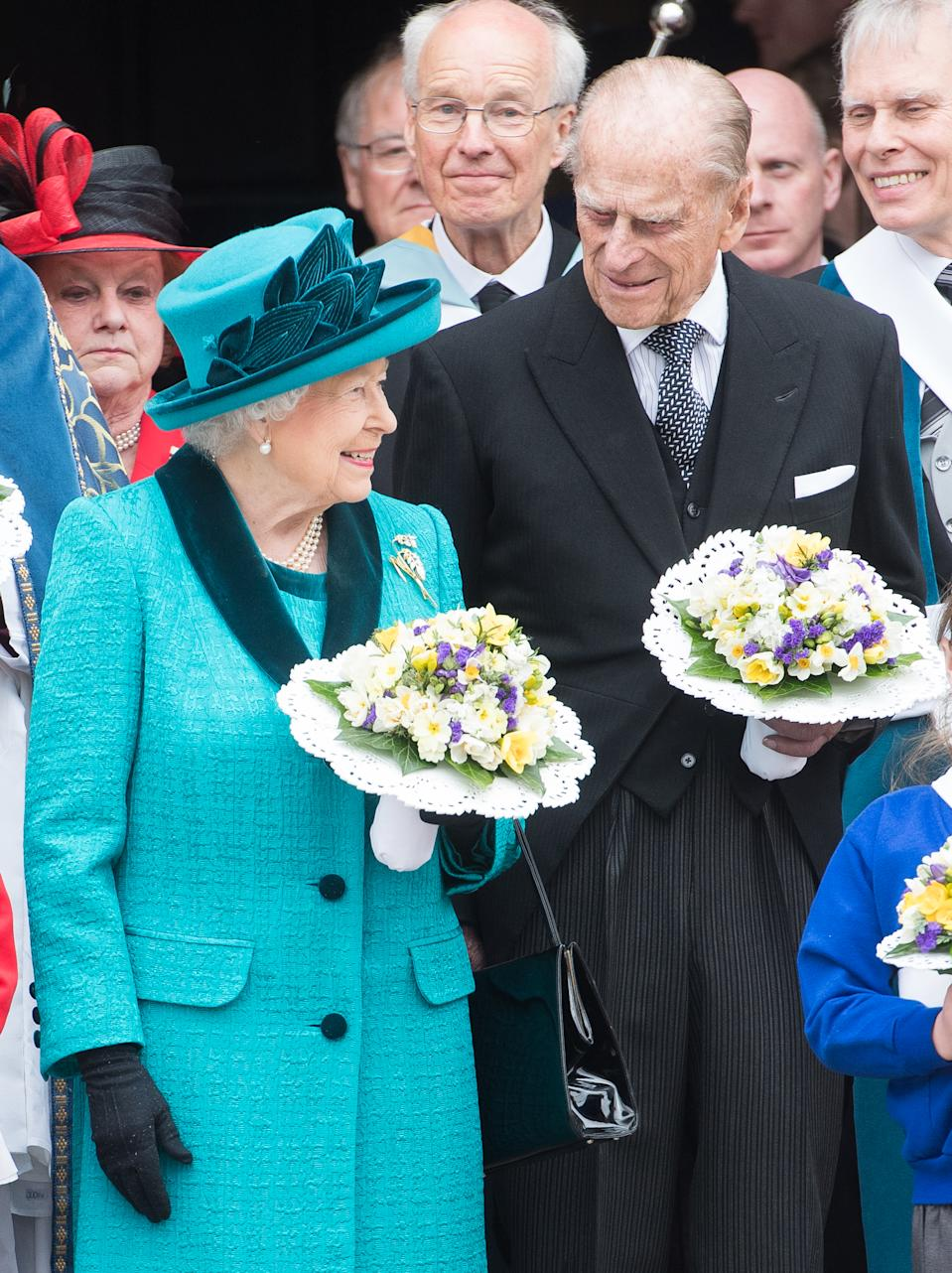 The Royal Maundy service at Leicester Cathedral. [Photo: Getty]