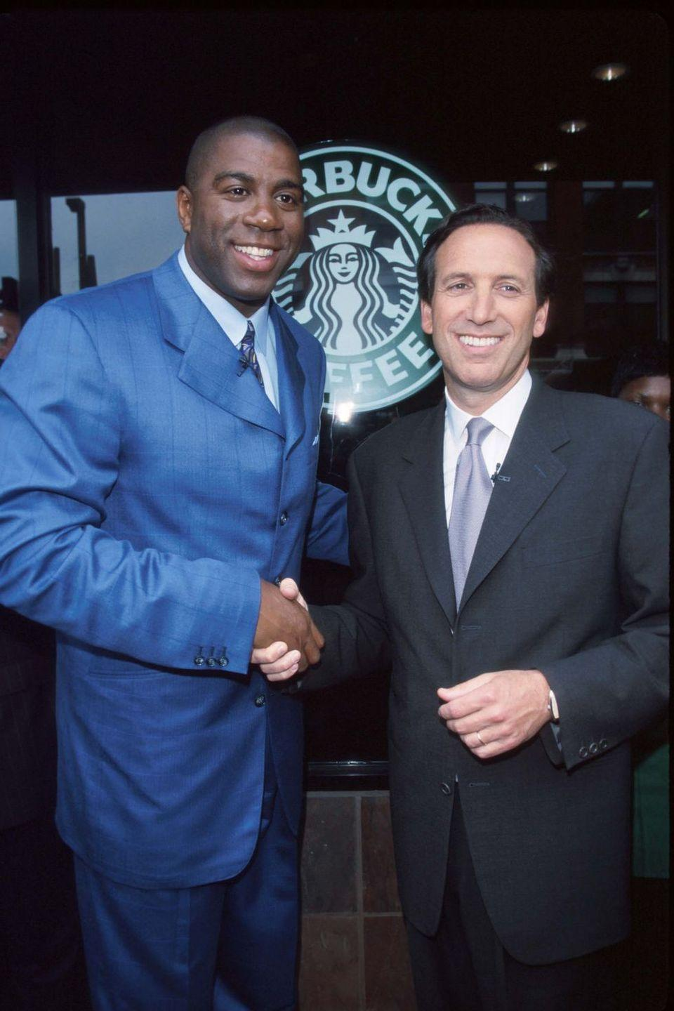 <p>Magic Johnson teamed up with the company to help with its social impact projects. He visited several locations in underserved neighborhoods across the country. </p>