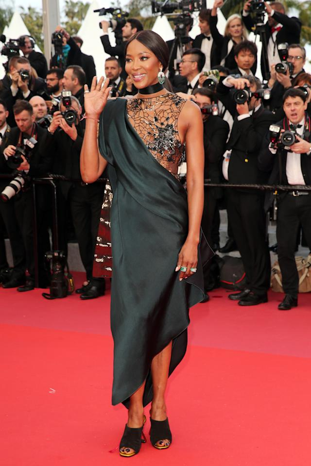 <p>Fashion queen Naomi Campbell pushed the fashion boundaries.<br /> Source: Getty </p>
