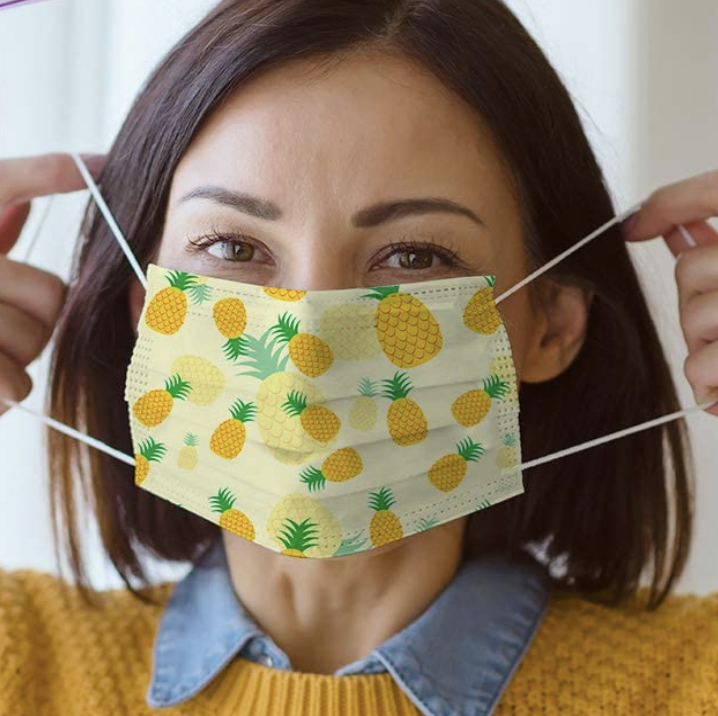 Viva Naturals has created printed 3ply disposable masks for you to stay safe. Amazon, $21 for 50 (originally $25 for 50)