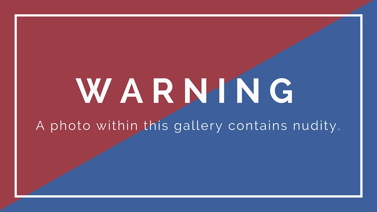 <p>Warning: A photo within this gallery contains nudity. </p>
