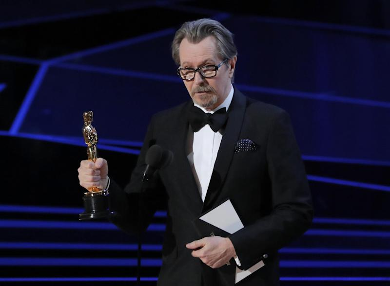 Family connection: Soap fans are baffled by the news that Gary Oldman is related to Laila Morse: Reuters