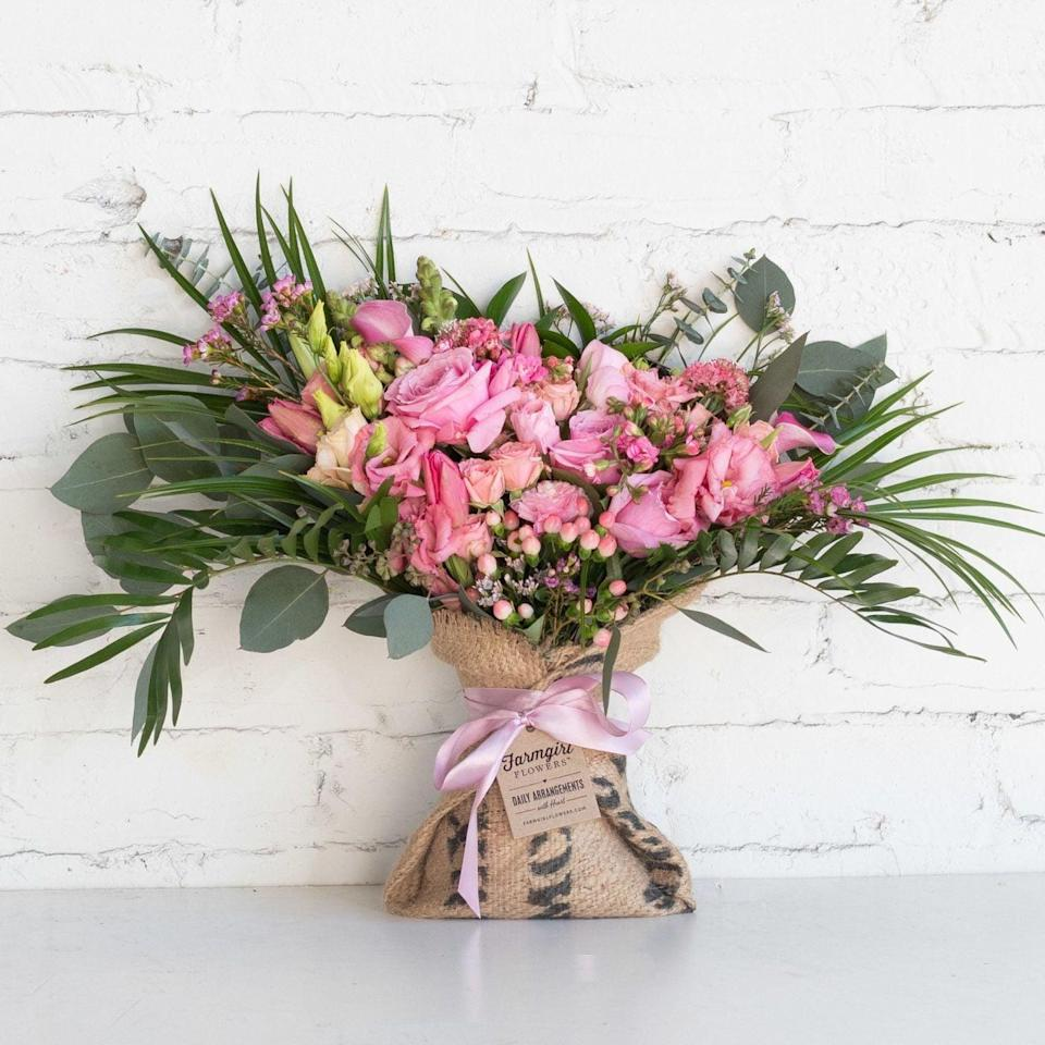 """<p>Shower your mom in pink with this <a href=""""https://farmgirlflowers.com/candy-shop"""" class=""""link rapid-noclick-resp"""" rel=""""nofollow noopener"""" target=""""_blank"""" data-ylk=""""slk:Candy Shop Bouquet"""">Candy Shop Bouquet </a>($79).</p>"""
