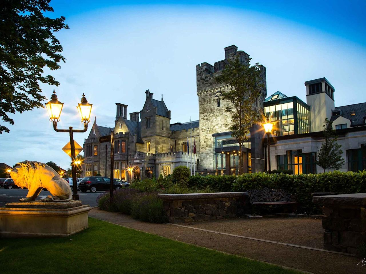 """For <a href=""""https://www.cntraveler.com/gallery/best-things-to-do-in-dublin?mbid=synd_yahoo_rss"""">a trip to Dublin</a>, Clontarf Castle Hotel has it all. Close to the city center—the coastal suburb is a 10-minute drive away—<em>check</em>. On site dining worth imbibing—a Michelin-starred chef, a boozy afternoon tea option (hello Bombay Sapphire), and a gastropub that slings a mean prime rib burger are just a few of the offerings—<em>check</em>. Beautiful, comfortable, functional bedrooms—they're equipped with pillow top mattresses and handmade Irish Soap Company toiletries—<em>check.</em> The only thing this haven doesn't have is Dublin's surplus of crowds."""