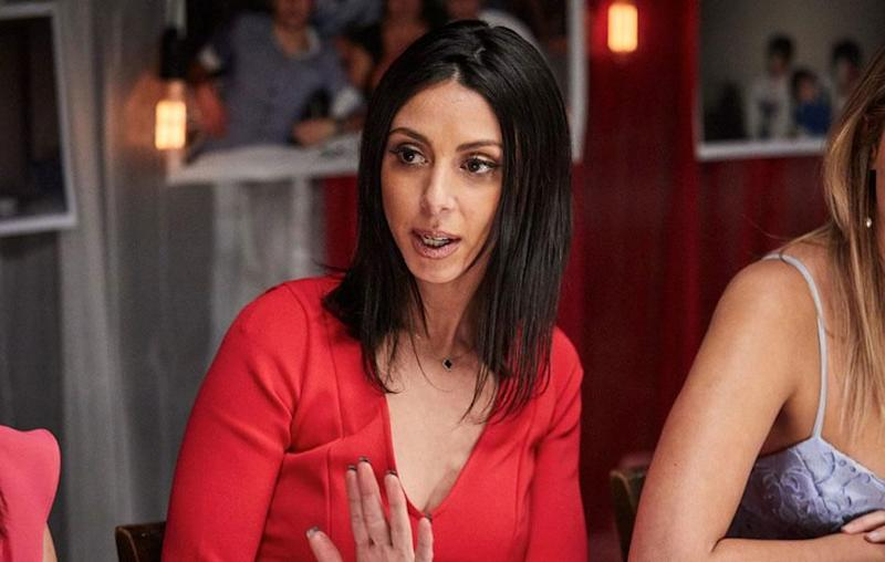 My Kitchen Rules contestant Roula has opened up about the racism she's previously faced. Source: Channel Seven