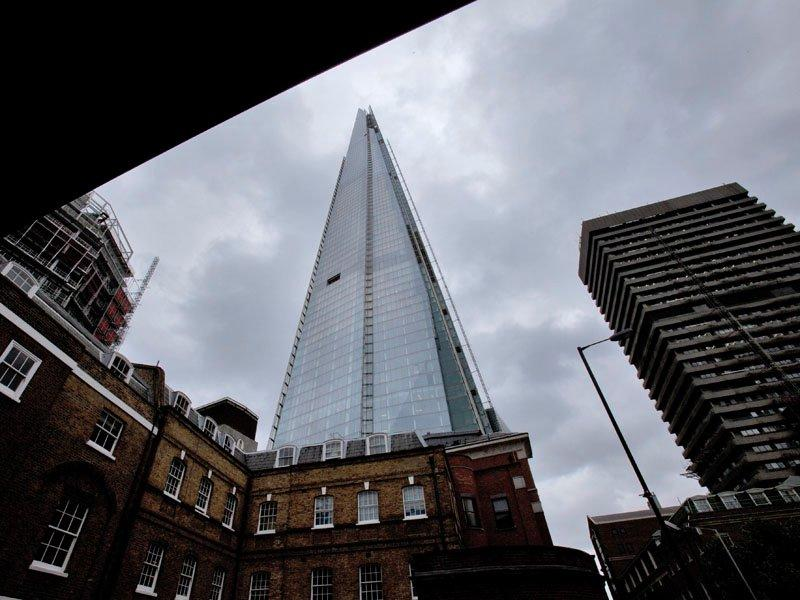 Europe's tallest building is in London