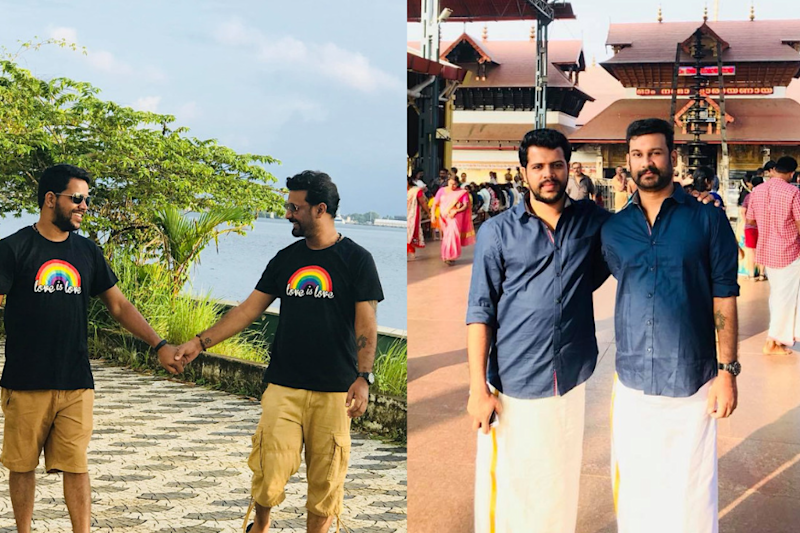 Kerala's First Openly Married Gay Couple is Now Fighting for Right to Adopt