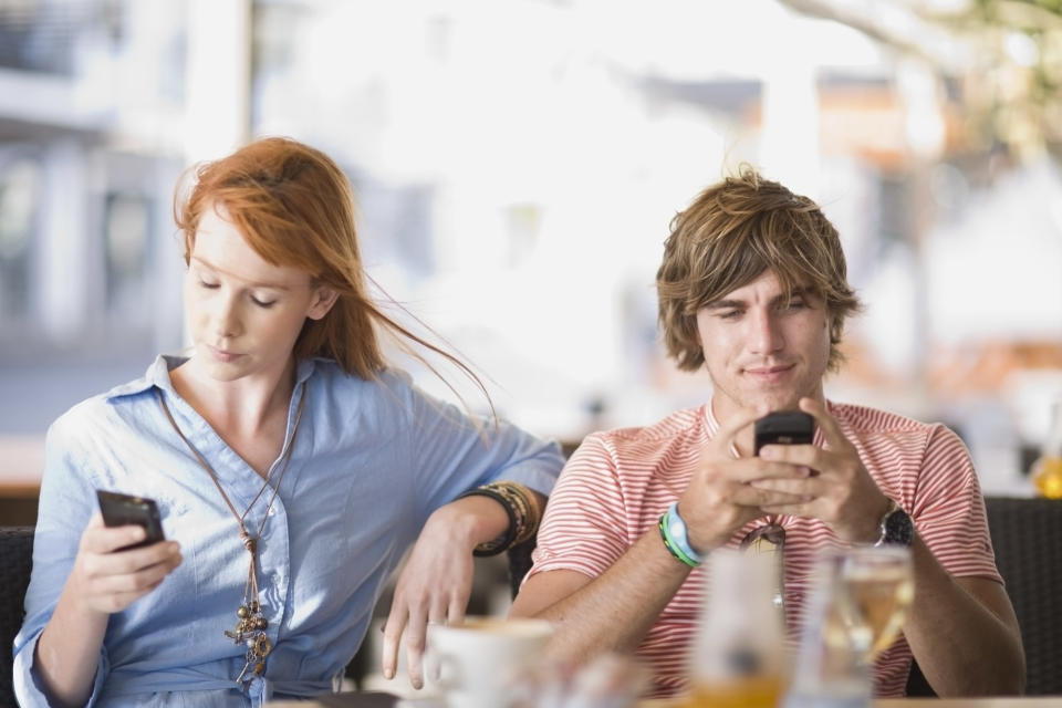 """<p>""""Communication is key to any healthy relationship,"""" says O'Donnell. When that communication stops and you're spending more time on your phone than talking to your other half, it can often spell the end of your marriage. <i>[Photo: Getty]</i> </p>"""