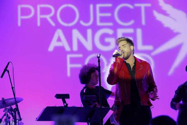 Singer-songwriter Adam Lambert performs at Project Angel Food's 2017 Angel Awards on Aug. 19, 2017, in Los Angeles. (Photo: Alison Buck/Getty Images for Project Angel Food)