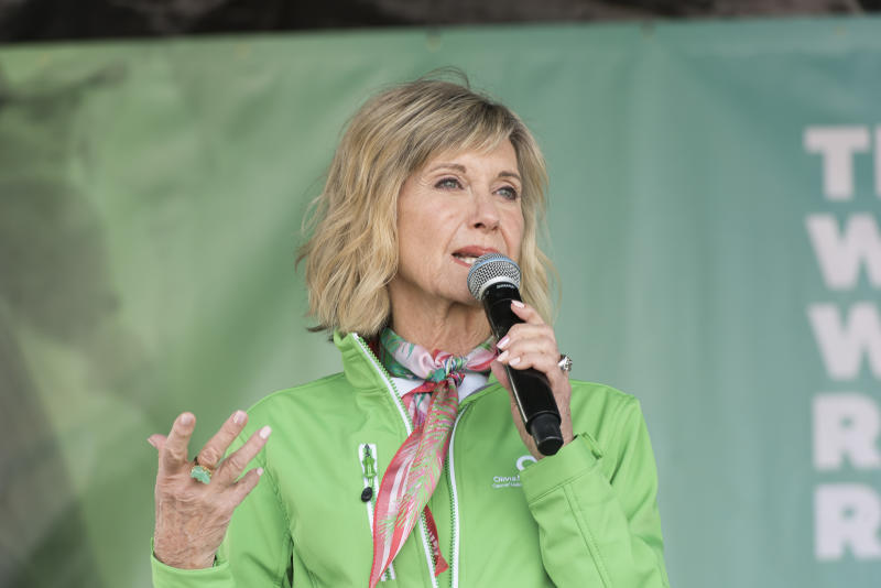 Olivia Newton-John says rumors about her health have been