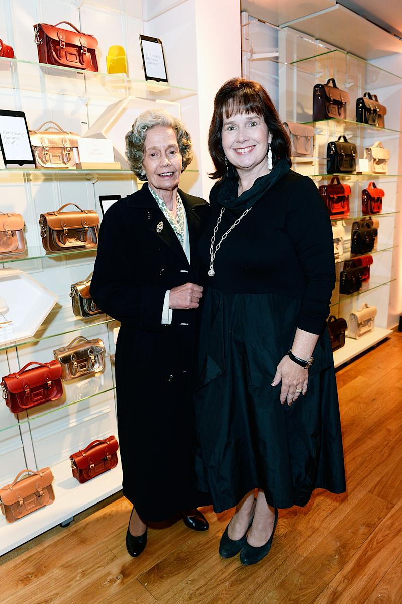 Cambridge Satchel Company Founders Julie Deane and her mother Freda Thomas