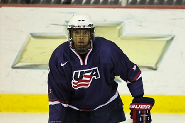 Top hockey prospect Seth Jones — Getty Images