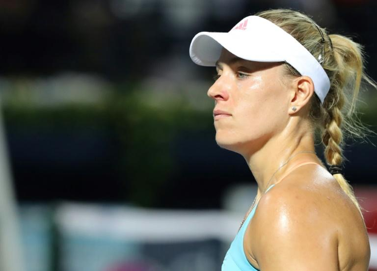Angelique Kerber's best performance of the season so far was a semi-final run last month at Dubai, where she revealed she had been struggling with a knee injury
