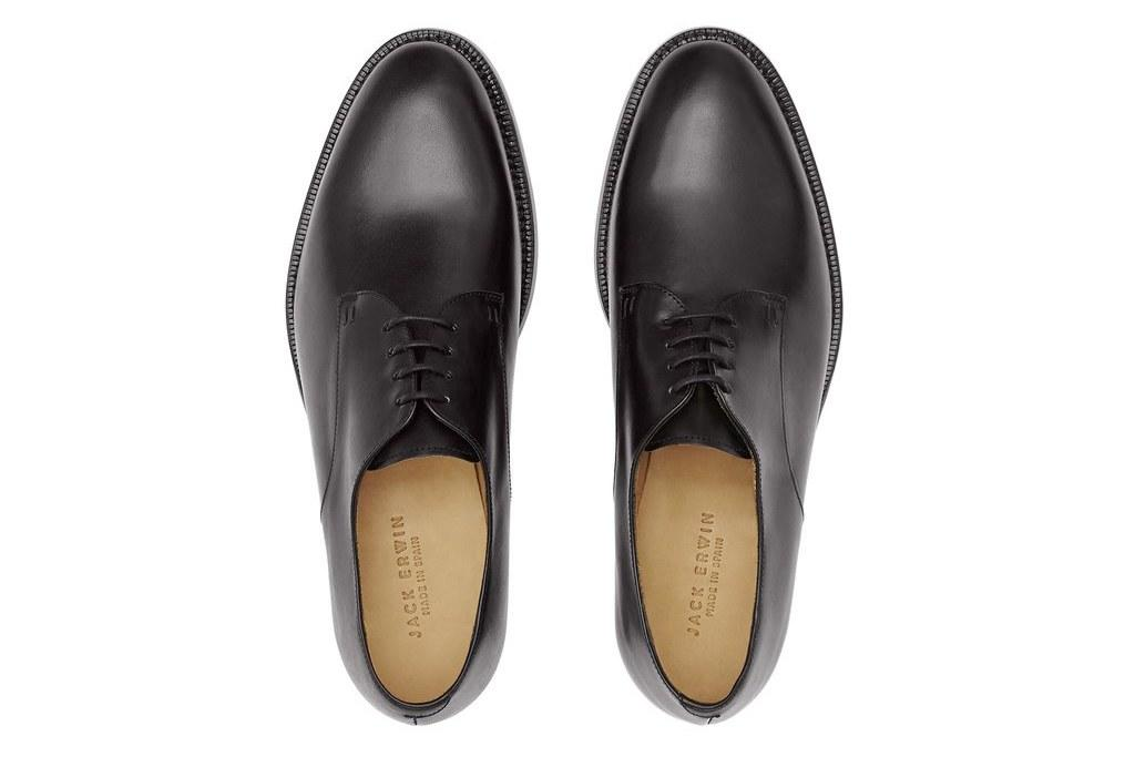 """<p><em>$195, buy now at <a rel=""""nofollow"""" href=""""https://www.jackerwin.com/products/dylan-plain-toe-blucher-black-full-grain?mbid=synd_yahoostyle"""">jackerwin.com</a></em></p>"""
