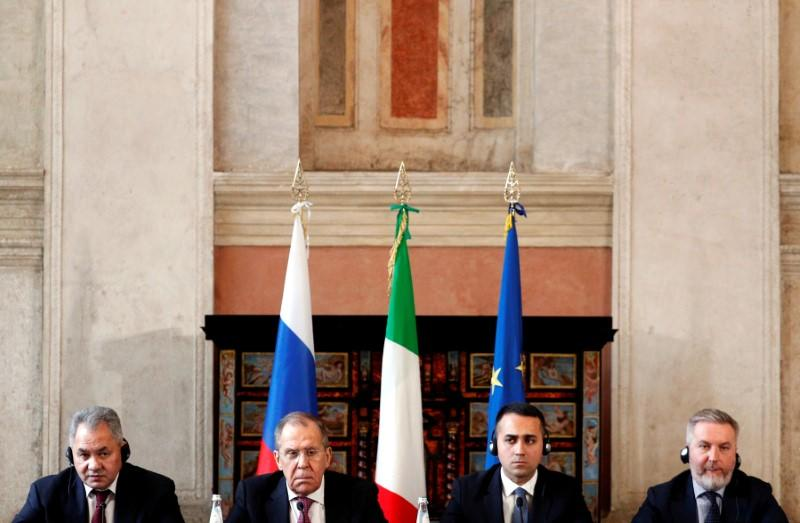 Russian aid to Italy leaves EU exposed