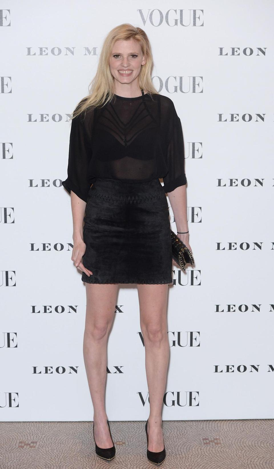<p>The Dutch-born beauty boasts a L'Oreal contract and has modelled for Stella McCartney as well as a host of other big name brands. <i>[Photo: PA]</i></p>