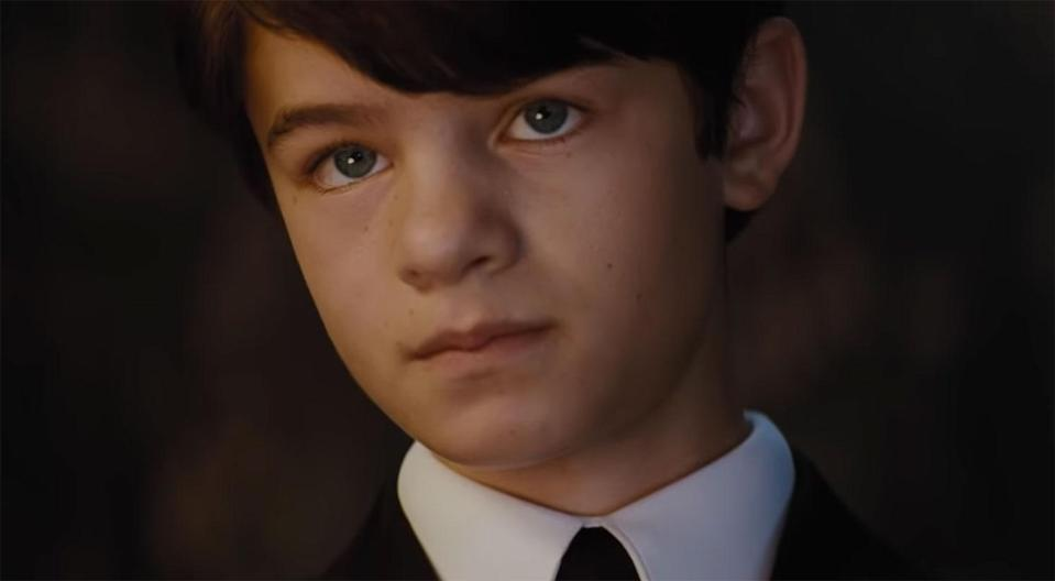 Branagh says they auditioned thousands of Irish youngsters before they found newcomer Ferdia Shaw for the lead in <i>Artemis Fowl</i> (Disney)