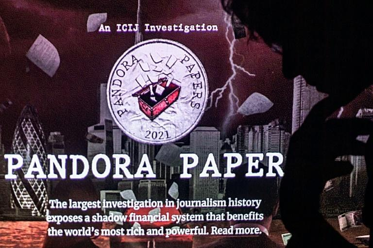 The Pandora Papers came from a massive leak of documents (AFP/LOIC VENANCE)