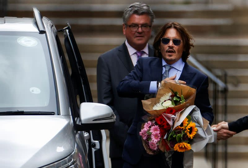 United Kingdom tabloid's lawyers assail Johnny Depp as libel trial nears end