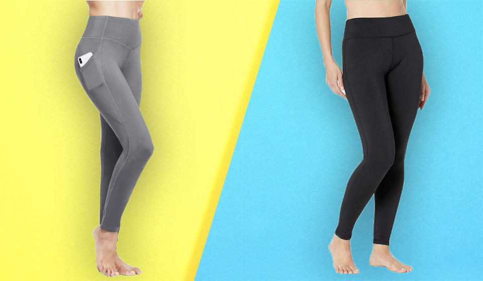 The toastiest leggings you'll ever own. (Photo: Amazon)