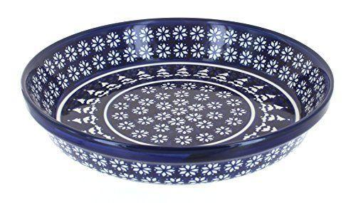 """<p><strong>Blue Rose Pottery</strong></p><p>amazon.com</p><p><strong>$58.50</strong></p><p><a href=""""https://www.amazon.com/dp/B0037L458M?tag=syn-yahoo-20&ascsubtag=%5Bartid%7C10050.g.22666197%5Bsrc%7Cyahoo-us"""" rel=""""nofollow noopener"""" target=""""_blank"""" data-ylk=""""slk:Shop Now"""" class=""""link rapid-noclick-resp"""">Shop Now</a></p><p>This pretty Polish pottery pie dish is almost too pretty to cover up! But your hostess can use it all season long with its subdued winter motif, and it will withstand temperatures up to 375 degrees. </p>"""