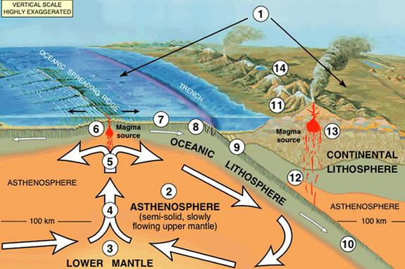 The theory of plate tectonics is a relatively new scientific concept.