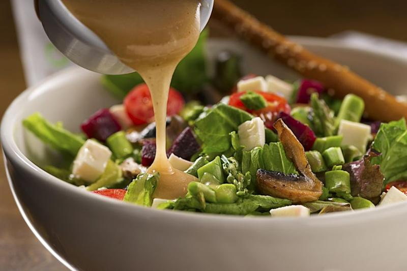 Get onboard with full-fat salad dressing. Photo: Getty Images