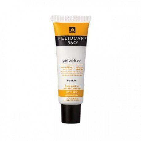 """<p><a class=""""link rapid-noclick-resp"""" href=""""https://www.amazon.co.uk/Heliocare-360%C2%B0-Sun-Protection-Oil-Free/dp/B00UYZ95F2?tag=hearstuk-yahoo-21&ascsubtag=%5Bartid%7C1921.g.32735%5Bsrc%7Cyahoo-uk"""" rel=""""nofollow noopener"""" target=""""_blank"""" data-ylk=""""slk:SHOP NOW"""">SHOP NOW</a></p><p>Neither a cream nor a lotion, but a lightweight gel. Approved by some of the best dermatologists in the business, this oil-free formula combines antioxidants ferulic acid and vitamins C and E to provide a barrier against UV, and has the ability to control sebum production. Prone to acne clusters? Stockpile it.</p>"""