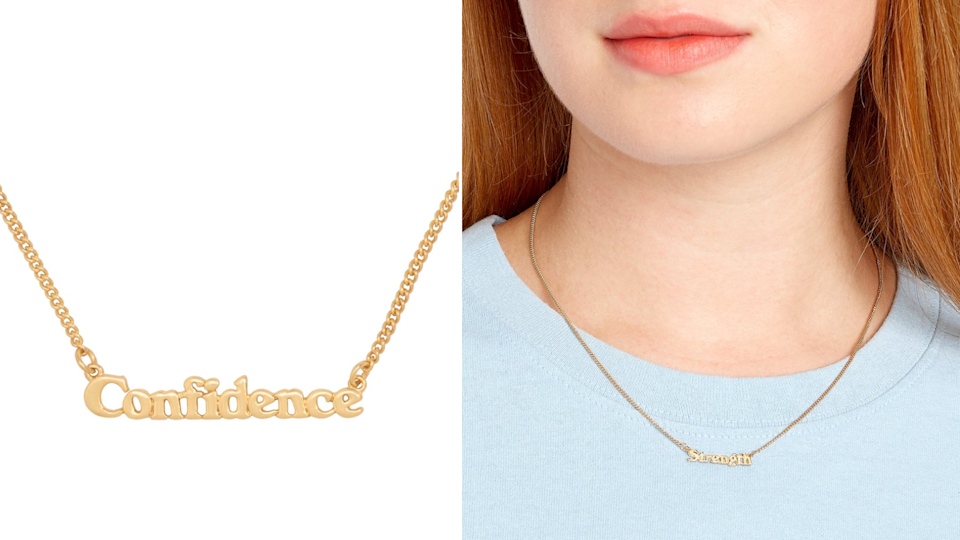 Ban.do Good Intentions necklace.