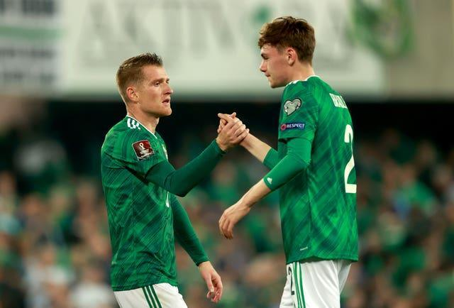 Conor Bradley played for Northern Ireland on Wednesday