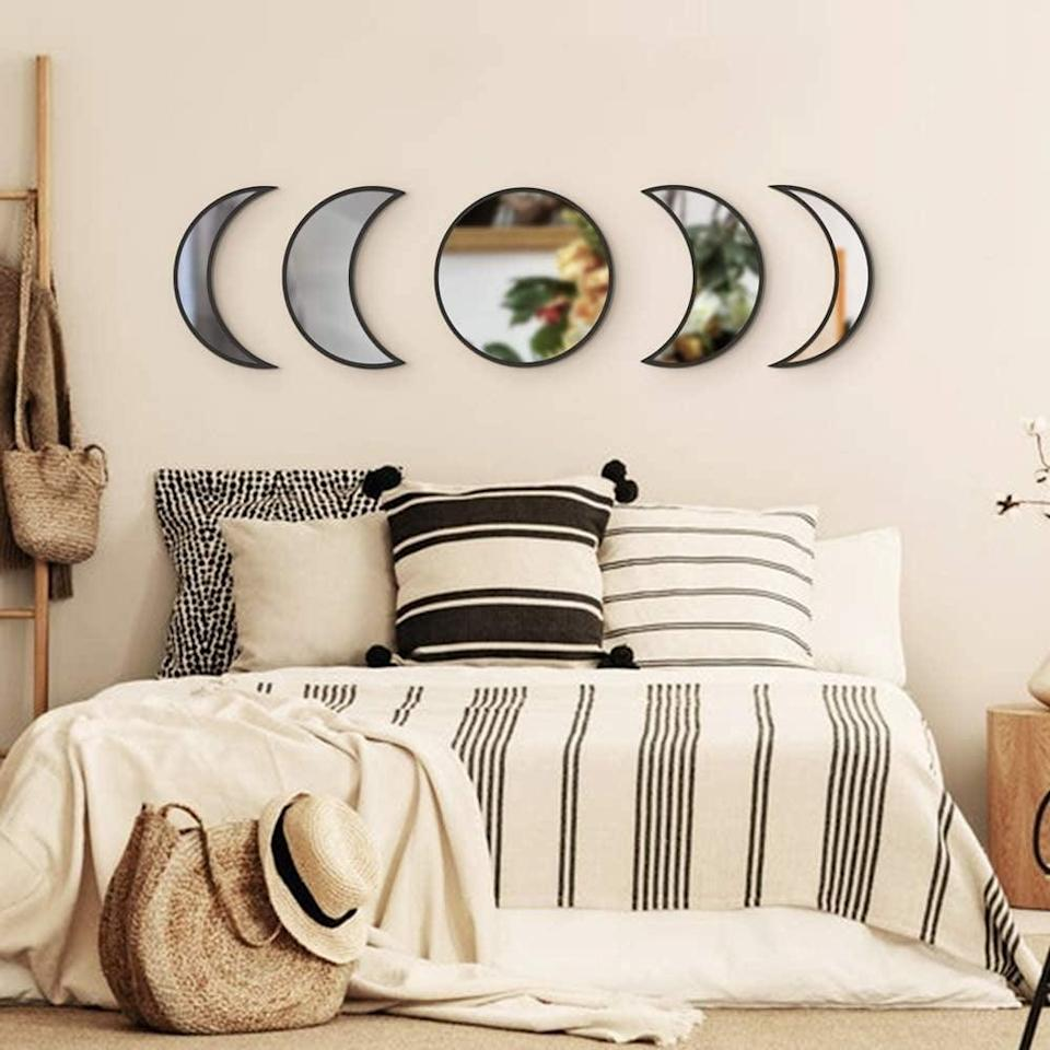 <p>Place this <span>Balgeli Wall Mirror Set</span> ($23, originally $30) above your bed for a minimal statement.</p>