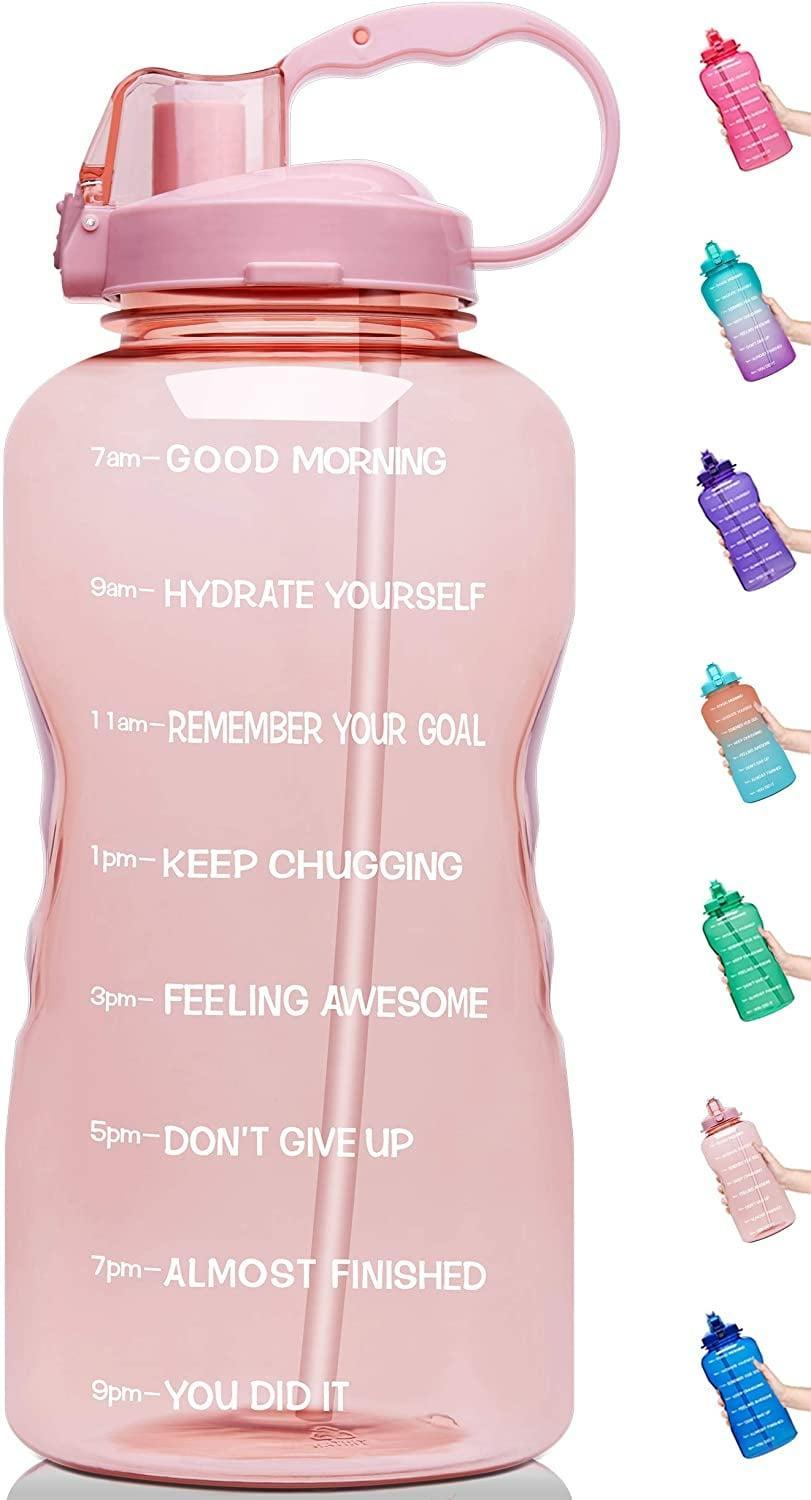 """<p>""""Every year I make a goal to drink more water, but after a few months I give up - but not this year. I bought this <span>Venture Pal Large Half Gallon Motivational BPA Free Leakproof Water Bottle</span> ($20) a month ago and I've used it every single day since. The time markers help me pace my water consumption and turn the whole thing into a game. I love hitting my goal every day."""" - Jessica Harrington, associate editor, Beauty</p>"""