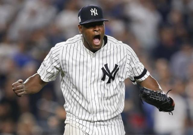 Luis Severino emerged as the Yankees most reliable pitcher in 2017. (AP)