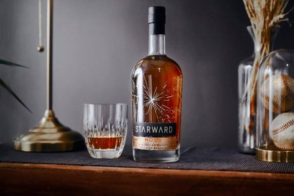 This whiskey will feel equally at home in your wine cellar and on your top shelf. Photo courtesy of Starward