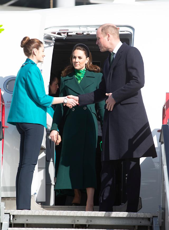 The Duke and Duchess of Cambridge are to spend three days in Ireland. (Press Association)