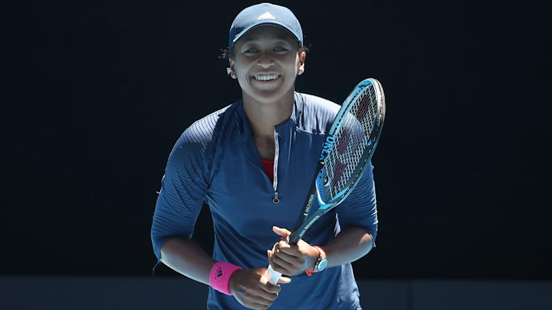Osaka not thinking too far ahead in Melbourne