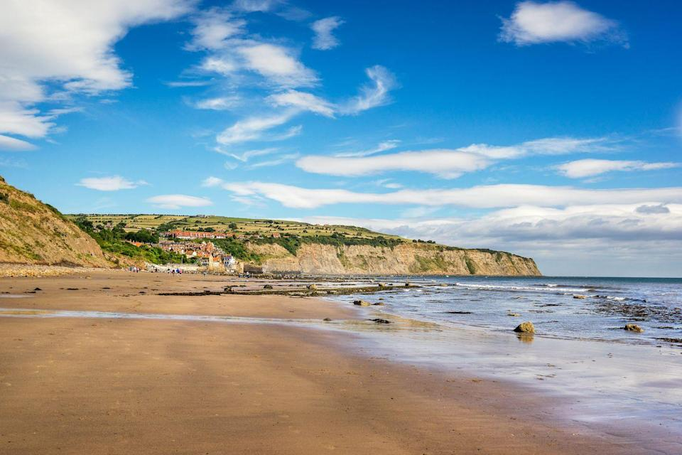 """<p>Yorkshire makes for a revitalising getaway at any time of the year, but it really comes to life in winter. One of Britain's best winter beaches has to be Robin Hood's Bay, offering panoramic clifftop views. It's also a brilliant spot for fossil-hunting, and exploring the rock pools looking for little signs of life, like crabs and shrimps. If you're feeling brave, wait until the tide is out and visit the hidden cove of Boggle Hole.</p><p><strong>Where to stay:</strong> The homely <a href=""""https://go.redirectingat.com?id=127X1599956&url=https%3A%2F%2Fwww.booking.com%2Fhotel%2Fgb%2Fvictoria-whitby.en-gb.html%3Faid%3D2070935&sref=https%3A%2F%2Fwww.countryliving.com%2Fuk%2Ftravel-ideas%2Fstaycation-uk%2Fg34437103%2Fbritain-best-winter-beaches%2F"""" rel=""""nofollow noopener"""" target=""""_blank"""" data-ylk=""""slk:Victoria Hotel"""" class=""""link rapid-noclick-resp"""">Victoria Hotel</a> offers clifftop views over the bay, where you can enjoy local ales or afternoon tea with an ocean vista. It's also just 10 minutes' drive from historic Whitby for a varied winter break.</p><p><a class=""""link rapid-noclick-resp"""" href=""""https://go.redirectingat.com?id=127X1599956&url=https%3A%2F%2Fwww.booking.com%2Fhotel%2Fgb%2Fvictoria-whitby.en-gb.html%3Faid%3D2070935&sref=https%3A%2F%2Fwww.countryliving.com%2Fuk%2Ftravel-ideas%2Fstaycation-uk%2Fg34437103%2Fbritain-best-winter-beaches%2F"""" rel=""""nofollow noopener"""" target=""""_blank"""" data-ylk=""""slk:CHECK AVAILABILITY"""">CHECK AVAILABILITY</a></p>"""