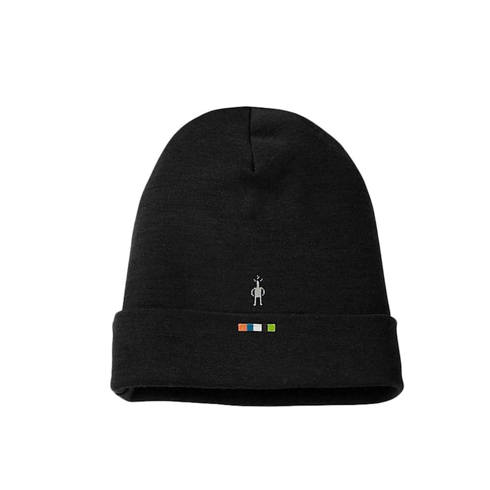 """$30, Backcountry. <a href=""""https://www.backcountry.com/smartwool-cuffed-beanie"""" rel=""""nofollow noopener"""" target=""""_blank"""" data-ylk=""""slk:Get it now!"""" class=""""link rapid-noclick-resp"""">Get it now!</a>"""