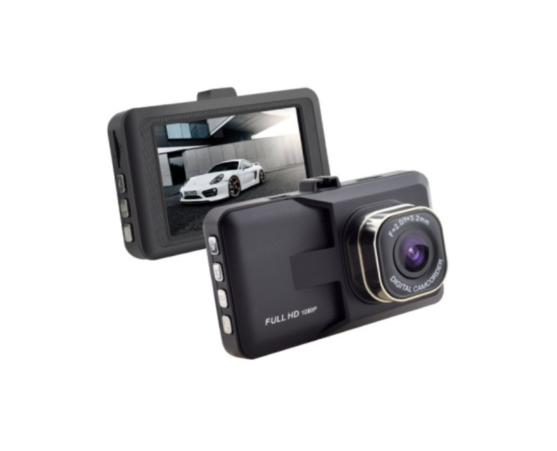 "AceCam 3"" Full HD Dash Camera With Ultra Loop Recording"