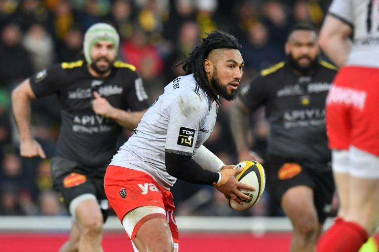 All Black Ma'a Nonu scored the crucial try that gave Toulon victory over La Rochelle