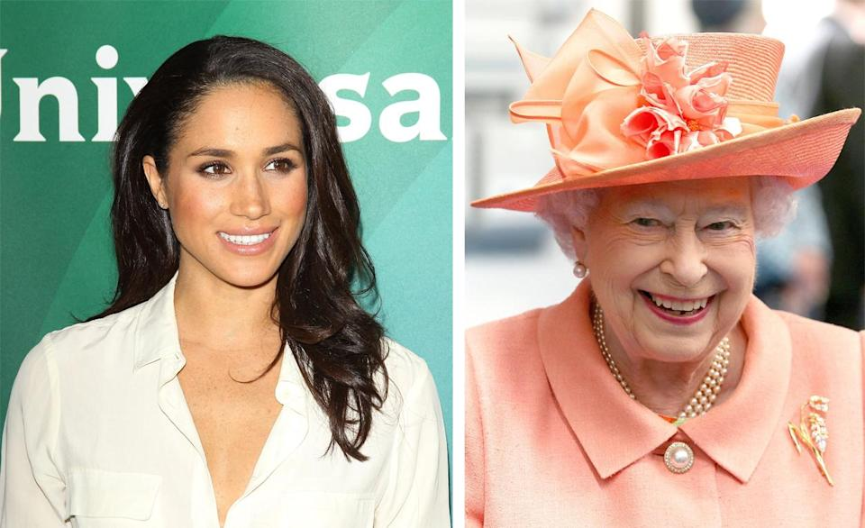 Prince Harry has reportedly introduced Meghan Markle to the Queen [Photos: PA]