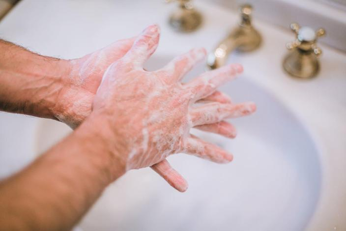 "<span class=""caption"">Washing your hands frequently is just one of the things you can do to stay healthy during the coronavirus outbreak. </span> <span class=""attribution""><a class=""link rapid-noclick-resp"" href=""https://www.gettyimages.com/detail/photo/man-washing-hands-preventing-spread-of-germs-royalty-free-image/1210706952?adppopup=true"" rel=""nofollow noopener"" target=""_blank"" data-ylk=""slk:Getty Images / Jena Ardell"">Getty Images / Jena Ardell</a></span>"