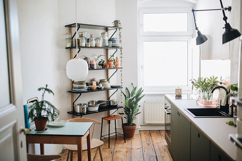 Jules's update to her small kitchen kept the warmth but added some adult touches.