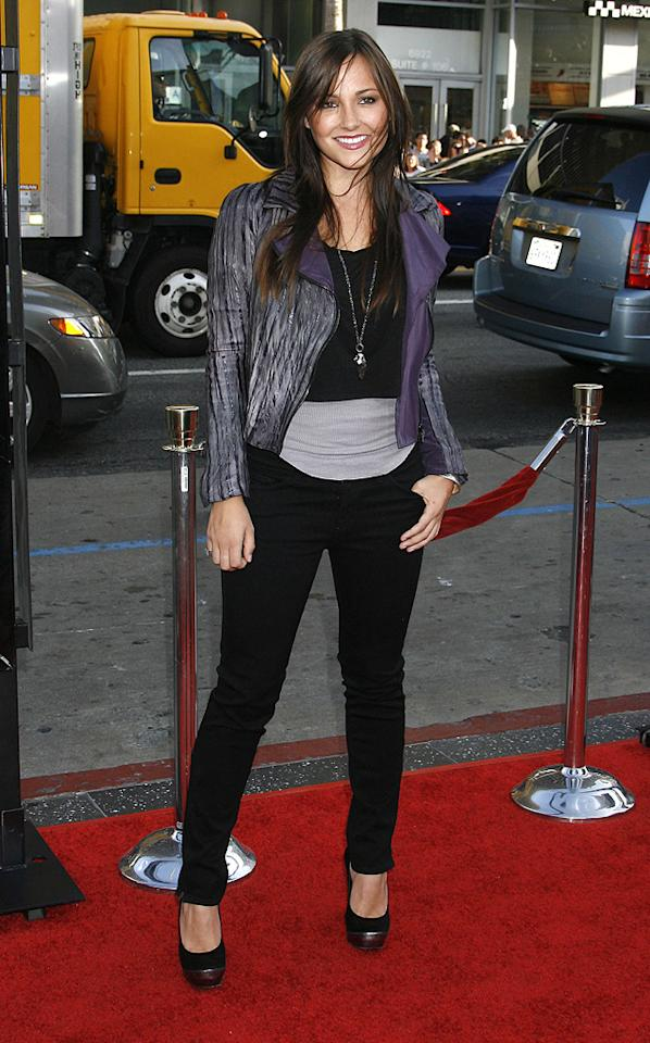 "<a href=""http://movies.yahoo.com/movie/contributor/1800270917"">Briana Evigan</a> at the Los Angeles premiere of <a href=""http://movies.yahoo.com/movie/1810044687/info"">The Hangover</a> - 06/02/2009"