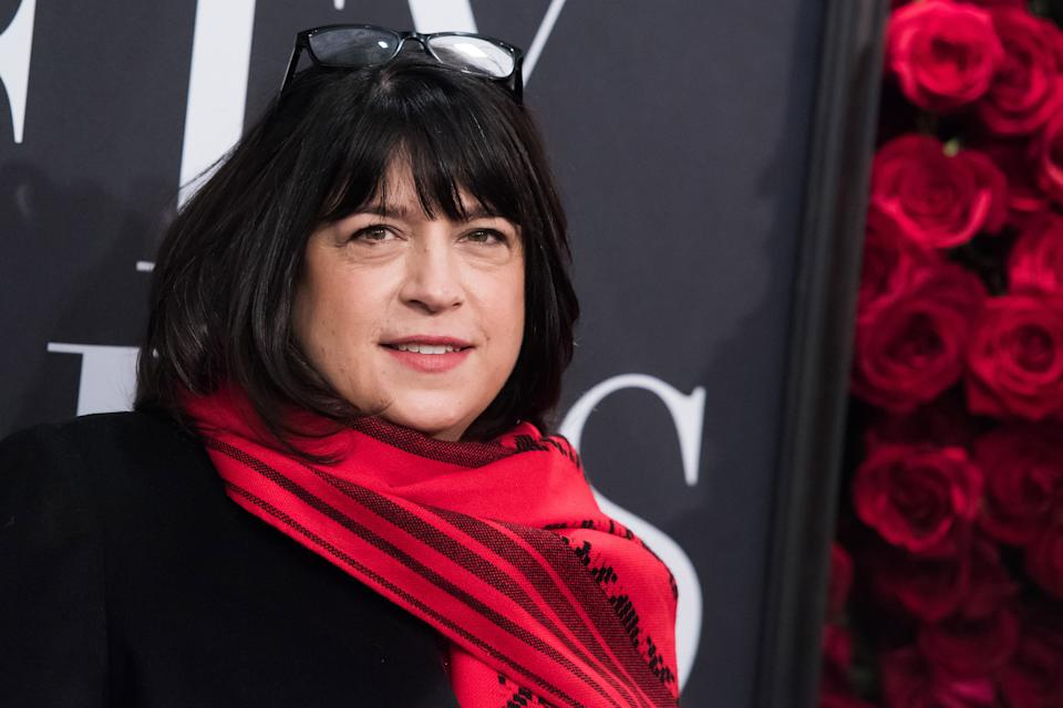 Author E. L. James attends a special fan screening of