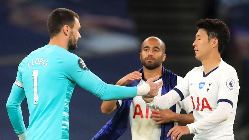 'Annoyed' Spurs captain Lloris admits Son spat was over lack of pressing