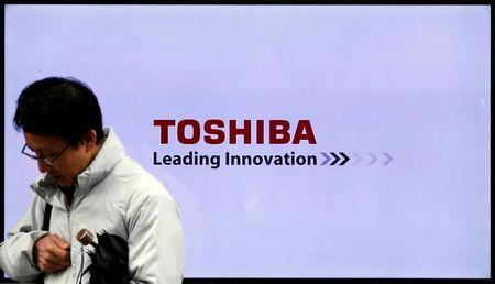 Troubled Toshiba reports unaudited results after 2 delays
